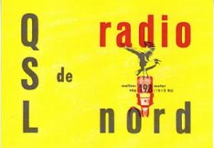 QSL-Karte von Radio Nord
