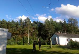 Sendeantennen für Kurzwelle in Kall-Krekel.